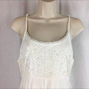 Maxi Bohemian off-white dress